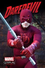 DAREDEVIL #1 cosplay variant cover
