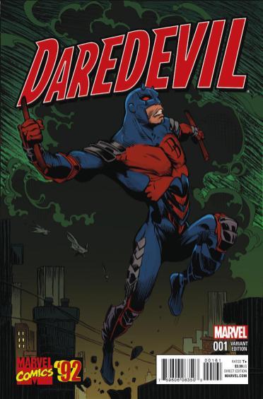 DAREDEVIL #1 Stroman variant cover