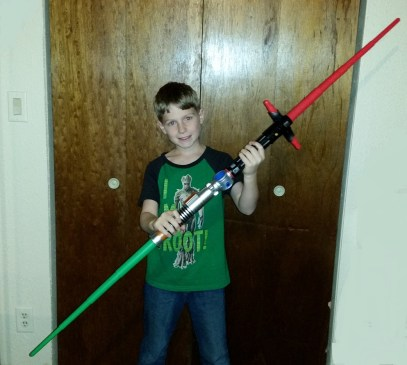 Lightsabers connected 1