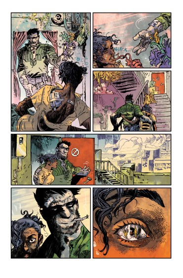 PAKNADEL & TRAKHANOV'S TURNCOAT #1 page 3 colors