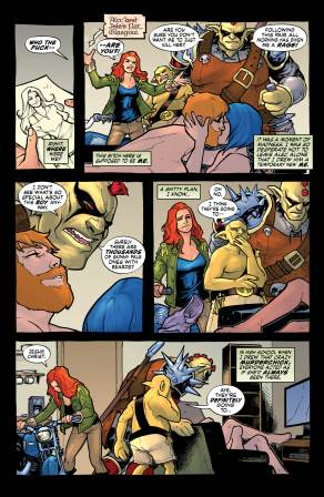 RED THORN #4 page 4