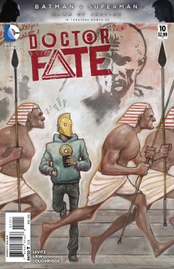 DOCTOR FATE #10 cover