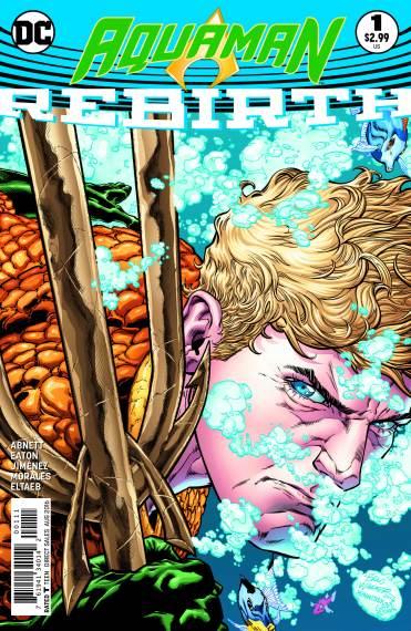 AQUAMAN: REBIRTH #1 cover