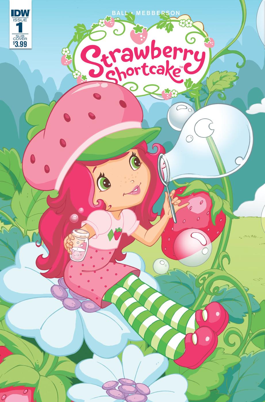 Strawberry Shortcake Calmed Me Down