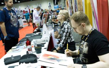Artist Alley at MegaCon Orlando 2017