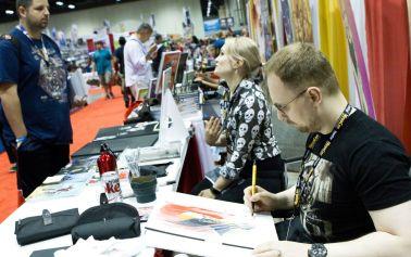Artist Alley at MegaCon Orlando 2017