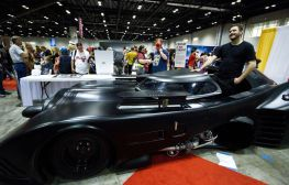The Batmobile at MegaCon Orlando 2017