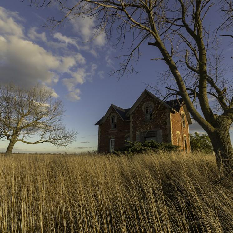 Ontario Abandoned House Photography
