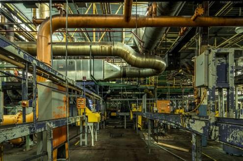 Industrial Urban Exploration abandoned automotive plant