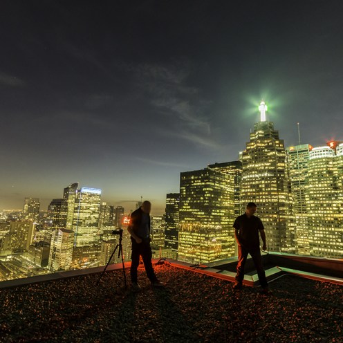 Toronto City Skyline Rooftopping