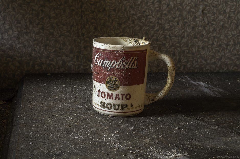 A warm cup of Pop Culture, in an old abandoned house