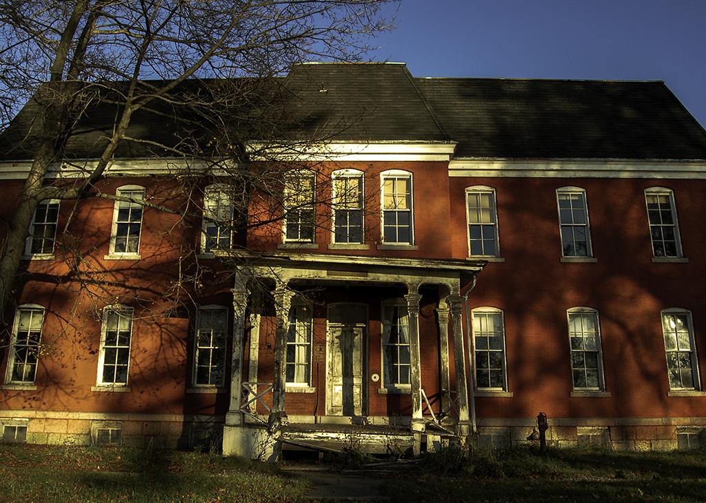 photography prints of Abandoned Insane Asylum