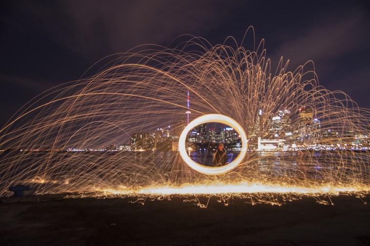 Toronto Skyline Steel Wool