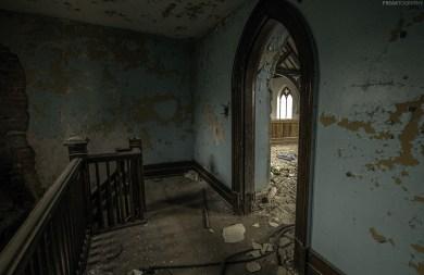 An abandoned church in Buffalo, New York