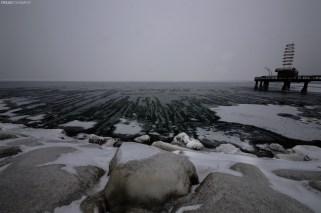 Frozen Burlington Ontario