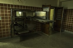 Ontario Abandoned Psychiatric Hospital Freaktography Morgue Trays