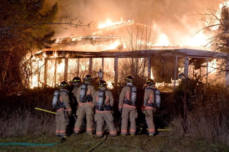 Burlington Cat Lady House Abandoned Fire