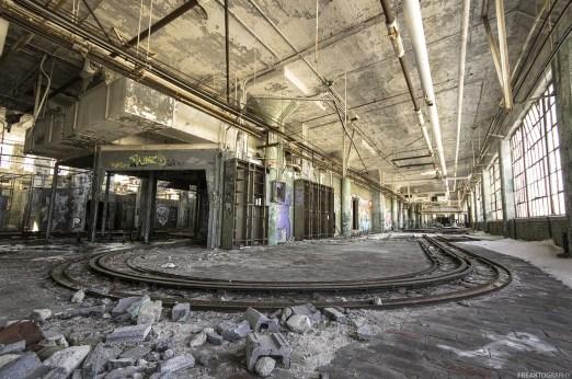 Abandoned Detroit Auto Factory