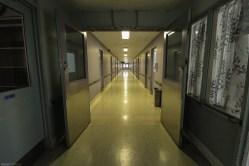 Vacant Psychiatric Hospital Hallway