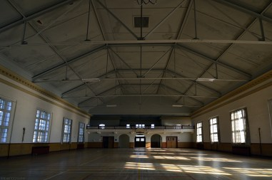Ontario Abandoned Psychiatric Hospital Recreation Hall s