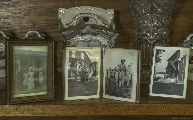 Very old wartime photos found in an abandoned ontario house