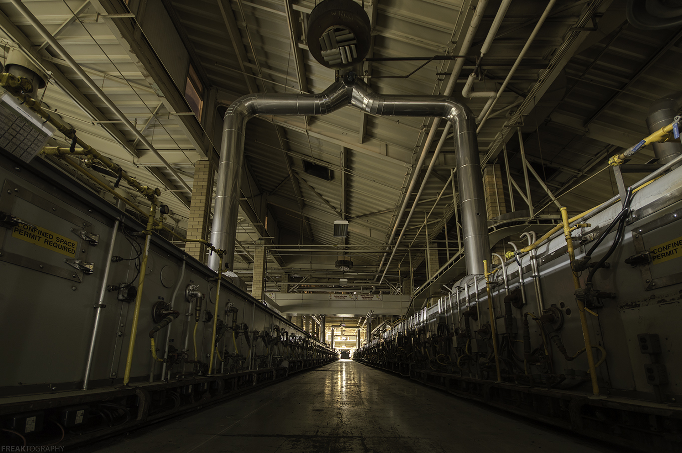 Vacant Food Production Plant