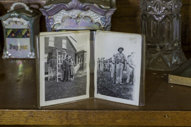Wartime photos left behind in abandoned house