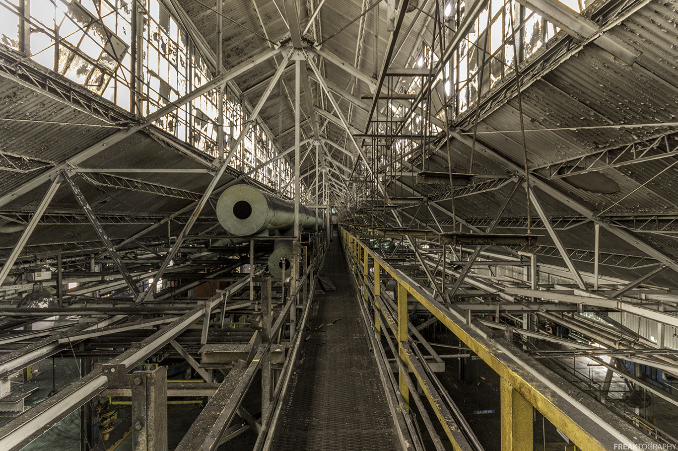 St Catharines GM Plant Urban Exploration Industrial Photography