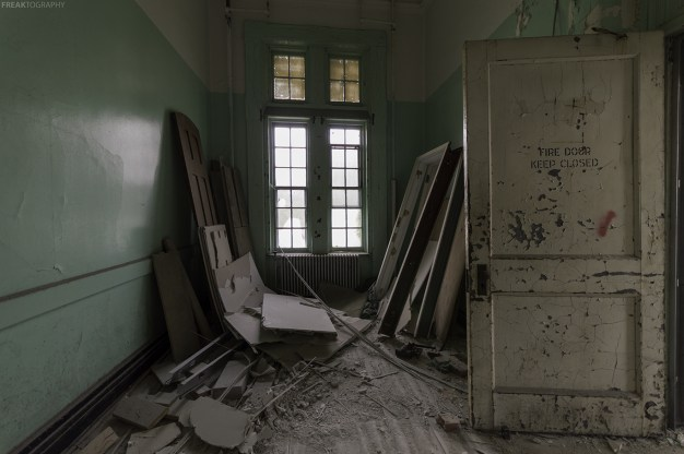 Buffalo State Asylum Storage Room
