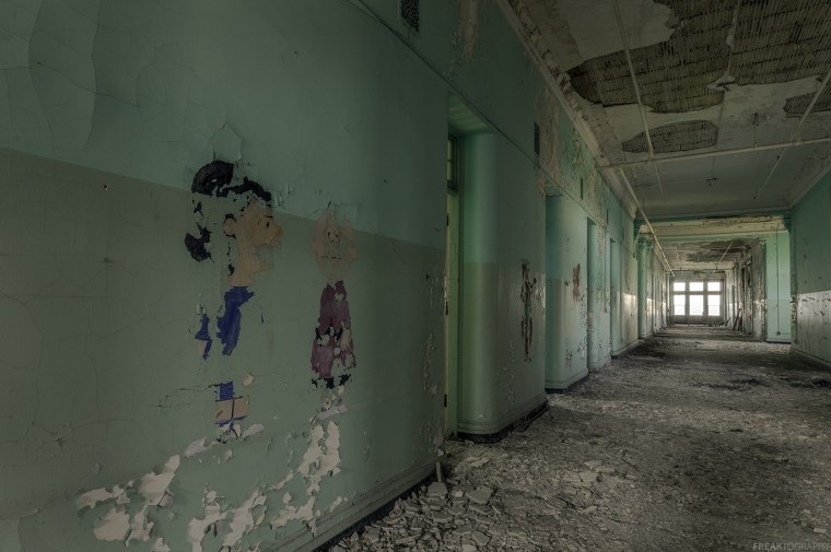 Buffalo State Asylum Childrens ward