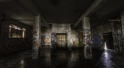 An abandoned builing in Toronto that has sat in this state for over 40 years.