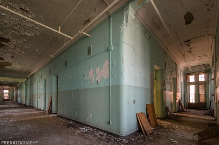 Mental Asylum Hallways