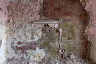 Peeling Wall Abandoned Building