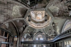 An abandoned Church in detroit
