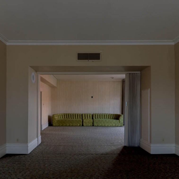 Abandoned Funeral Home Sitting Room