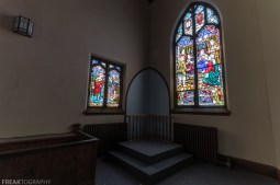 Abandoned Church, Freaktography, abandoned, abandoned ontario church, abandoned photography, abandoned places, church, creepy, decay, derelict, haunted, haunted places, photography, stained glass, stained glass windows, urban exploration, urban exploration photography, urban explorer, urban exploring