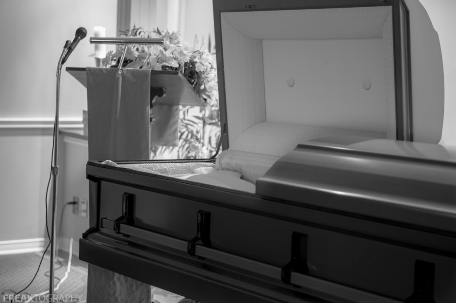 Freaktography, abandoned, abandoned funeral home, abandoned photography, abandoned places, black and white, casket, coffin, creepy, death, decay, derelict, flowers, funeral home, haunted, haunted places, monochrome, photography, urban exploration, urban exploration photography, urban explorer, urban exploring