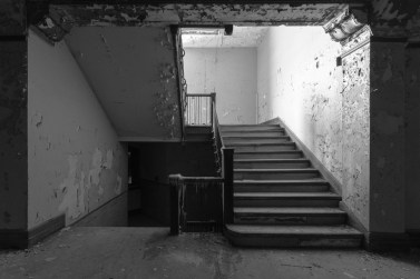 Photography, URBAN EXPLORATION, abandoned, abandoned mens residence, abandoned photography, abandoned places, abandoned university mens residence, corridor, creepy, decay, derelict, freaktography, hallway, haunted, haunted places, stairs, urban exploration photography, urban explorer, urban exploring