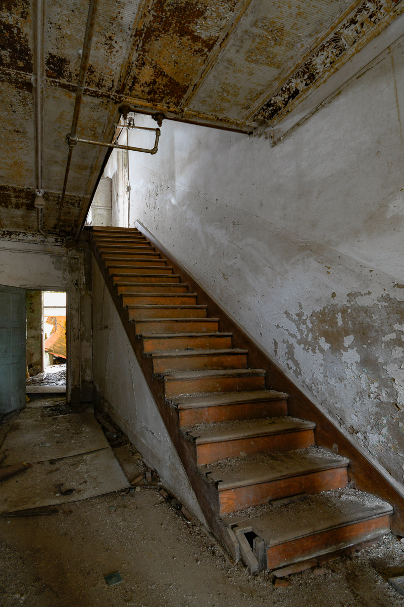 ABANDONED MENTAL INSTITUTION, MENTAL ASYLUM, Photography, URBAN EXPLORATION, WILLARD, WILLARD INSANE ASYLUM, abandoned, abandoned asylum staricase, abandoned insane asylum, abandoned mental asylum, abandoned photography, abandoned places, abandoned stairway, creepy, decay, derelict, freaktography, haunted, haunted places, insane asylum, stairs, stairway, urban exploration photography, urban explorer, urban exploring