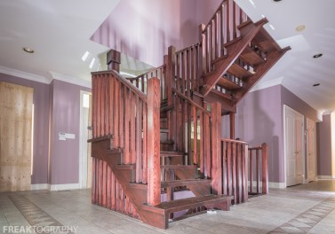 Abandoned Crazy Staircase Mansion Toronto