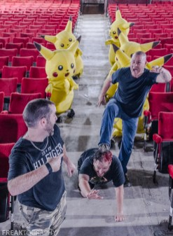 Exploring and Rediscovering the Abandoned Pokemon Theatre this abandoned theatre dates back to the early 1900's and the last show here was Pokemon Live