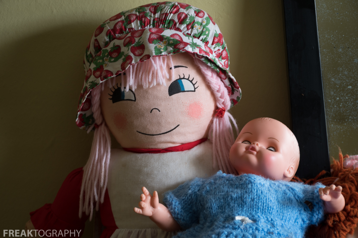 Creepy Dolls Abandoned Time Capsule House Urban Exploration