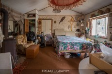 Abandoned Bird Watching Time Capsule Cabin