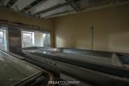 Inside a morgue Fridge