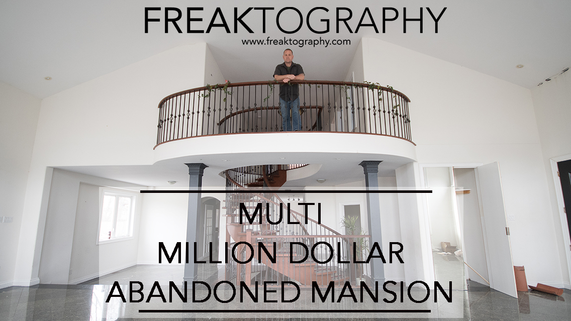 Multi Million Dollar Abandoned Mansion Development | Abandoned Mansions Ontario