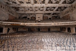 abandoned detroit cooley high school center stage