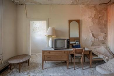 Abandoned Hotel Room