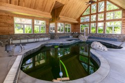 Abandoned Party Mansion Indoor Pool