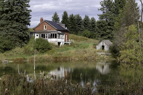 Abandoned House Hornings Mills Ontario 8x10 Print