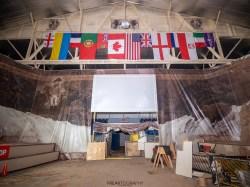 Abandoned Niagara Falls Memorial Arena and International Sand Sculpture Museum